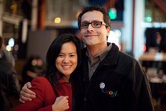 Bradley Horowitz - Bradley Horowitz with Irene Au