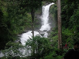 Lakshmana Tirtha - Iruppu falls on the river course