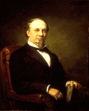 Isaac P. Gray - Isaac P. Gray, 1888 portrait, by Theodore C. Steele