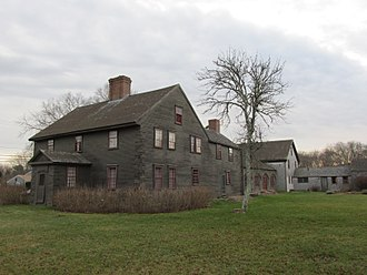 Edward Winslow - The Isaac Winslow House was built by Edward Winslow's grandson.   This was the third house built on land granted to Edward Winslow (1595–1655) in the 1630s who erected the first homestead there.