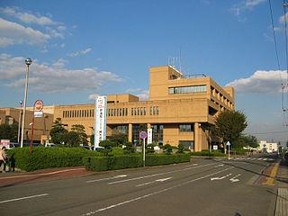 Isehara, Kanagawa City in Kantō, Japan