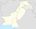 Islamabad Capital Territory in Pakistan (claims hatched).svg
