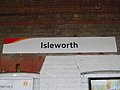 Isleworth station signage.JPG