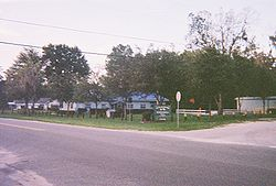 The Istachatta community center and Hernando County Public Library on the corner of CR 439 and Magnon Drive