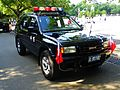Isuzu Rodeo Patrol Car of ROC Military Police in Military Police School 20120908a.jpg
