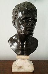 Bust of a black man (National Museum in Warsaw)