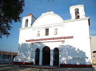 Juchitán District - Image: Ixtaltepec Iglesia