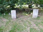 J. Mann RAF & R.A. Lally REME graves Bell's Hill, Chipping Barnet.jpg