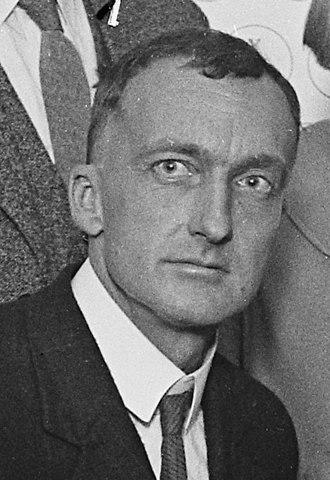 John Peabody Harrington - Harrington in 1924