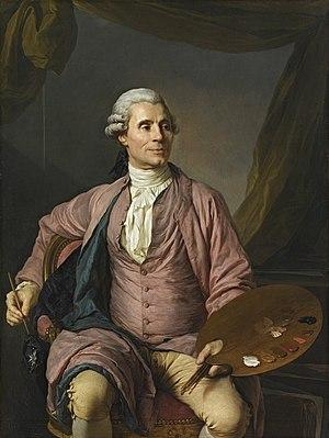 Joseph-Marie Vien - Joseph Marie Vien, portrait by Joseph Siffred Duplessis (1784).