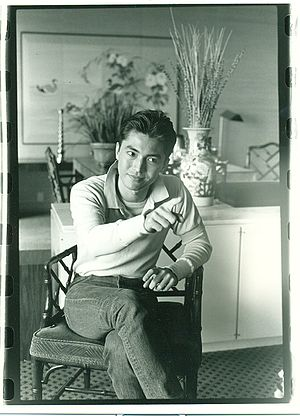 John Lone - John Lone in 1984 promoting his film ''Iceman''