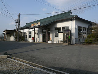 Tomida Station Railway station in Yokkaichi, Mie Prefecture, Japan