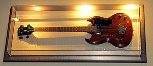 Gibson EB-0 - Image: Jack Bruce's Gibson EB 0 Bass