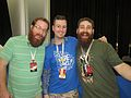 Jack Pattillo and Adam Ellis at RTX 2014 (14620231342).jpg