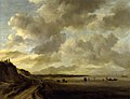 Jacob van Ruisdael - Zuiderzee coast near Muiden - Polesden Lacey.jpg