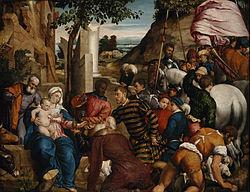 Jacopo Bassano: การนมัสการของโหราจารย์