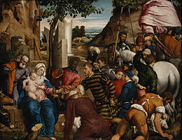 Jacopo Bassano (Jacopo dal Ponte) - The Adoration of the Kings - Google Art Project.jpg