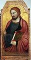 Jacopo del casentino, ss. caterina, jacopo e giovanni evangelista, 1350 ca., da s. prospero a cambiano 03.JPG