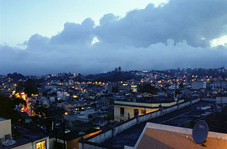 Xalapa - Jalapa in the evening