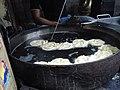 Jalebi making process at Old and famous Jalebiwala shop at Chandni Chowk, DelhiIMG 20150401 135545.jpg
