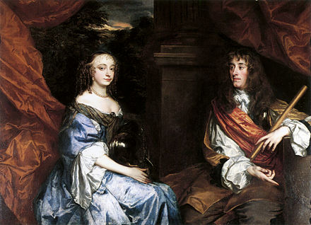 James and Anne Hyde in the 1660s, by Sir Peter Lely James II and Anne Hyde by Sir Peter Lely.jpg