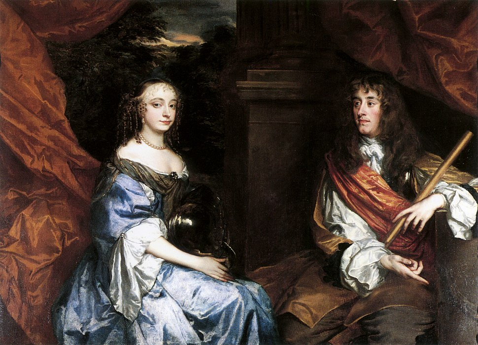 James II and Anne Hyde by Sir Peter Lely