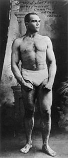 James J. Jeffries American boxer