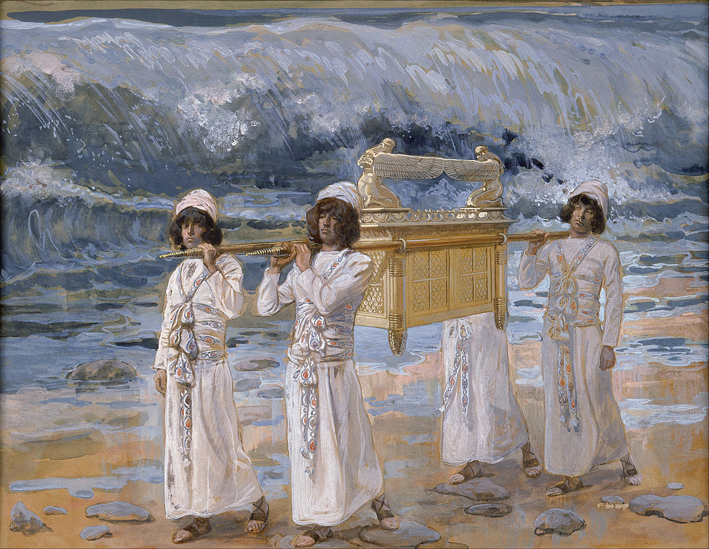 James Jacques Joseph Tissot - The Ark Passes Over the Jordan - Google Art Project.jpg