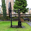 James Watt model water pump, Greenock Museum. Used to pump water.jpg