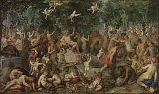 Bacchanal mit Hendrik van Balen