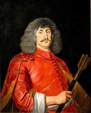 Miklós Zrínyi - Portrait of Miklós Zrínyi by Jan Thomas van Ieperen, Lobkowicz Palace, Prague.