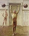 Jansson, Eugène Fredrik (1862-1915) - Pushing Weights with Two Arms -2.jpg