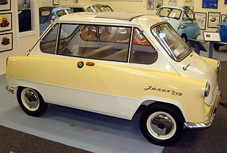 Zündapp Janus - It was difficult to see which was the front and which was the rear.