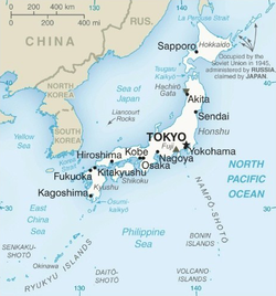 TemplateLocation Map Japandoc Wikipedia - Japan map latitude and longitude