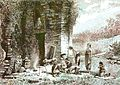 Javanen offerend bij Tjandi Parikesit.jpg