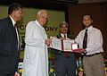 Jawahar Lal Nehru Award 2008.JPG
