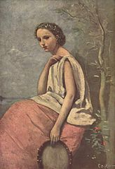 Zingara au tambour de basque