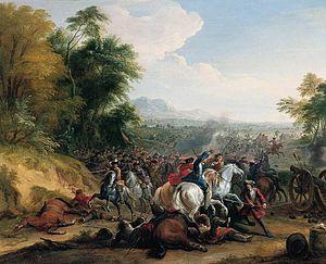Jean-Baptiste Martin - Cavalry Attack