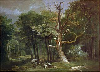 Wolf Hunt in the Forest of Saint-Germain