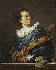 Porträt des Abbé de Saint-Non in einem Phantasiekostüm