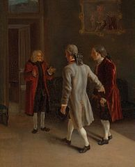 Voltaire Welcoming his Guests