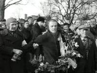 Jeen van den Berg, Elfstedentocht 1954.png