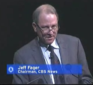 Jeff Fager American television producer