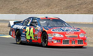 Sonoma Raceway - Jeff Gordon at the 2005 race