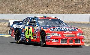 Sonoma Raceway - Jeff Gordon at the 2005 race