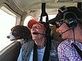 Jenna Ware Joe Ware and Troi flying in Cardinal.jpg