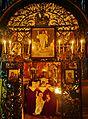 Jerusalem Grabeskirche Innen Grab Jesu Rückseite 1.JPG