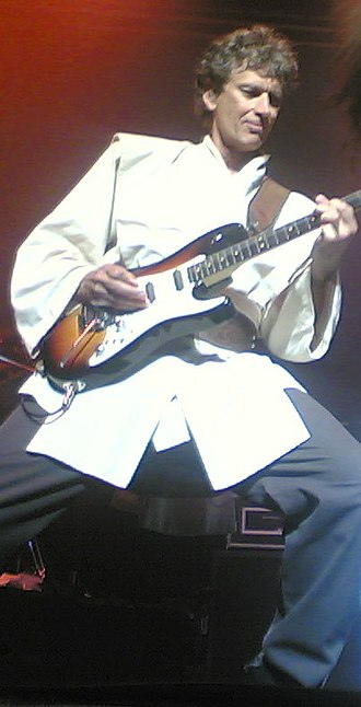 "Jim West (guitarist) - West performing guitar for ""Yoda"" in traditional Jedi robes on March 10, 2007"