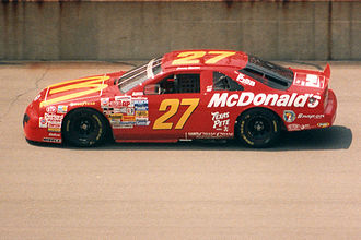Jimmy Spencer - Spencer's race car in 1994.
