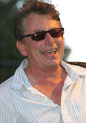 Music of Austin, Texas - Joe Ely in concert at the Blues On the Green music series, 2006.
